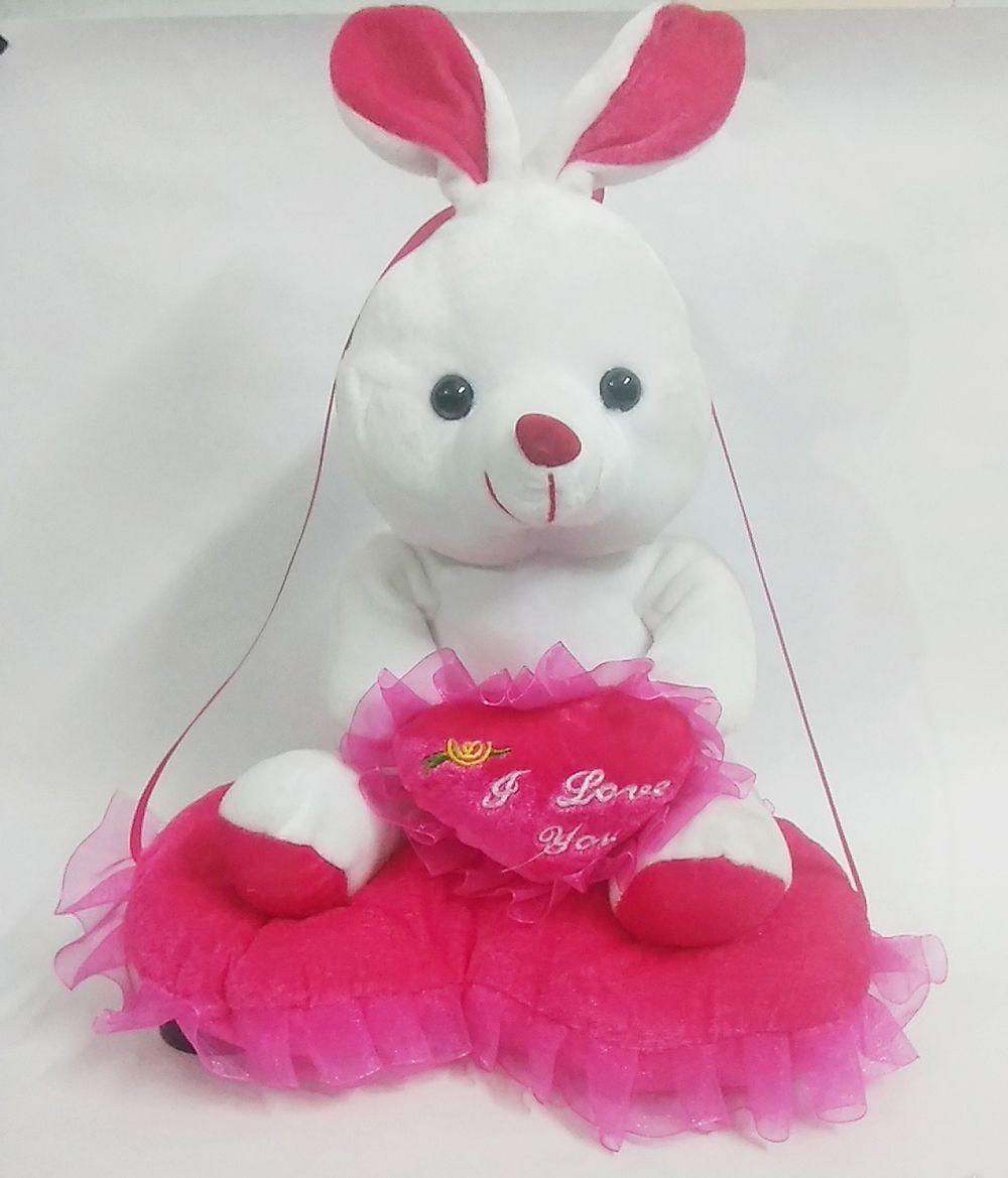 MS SONS & GIFT ARTS GULABI TEDDY (SET OF 1) Soft Stuffed Spongy Huggable Cute Teddy Bear Birthday Gifts Girls Lovable Special Gift High Quality ...