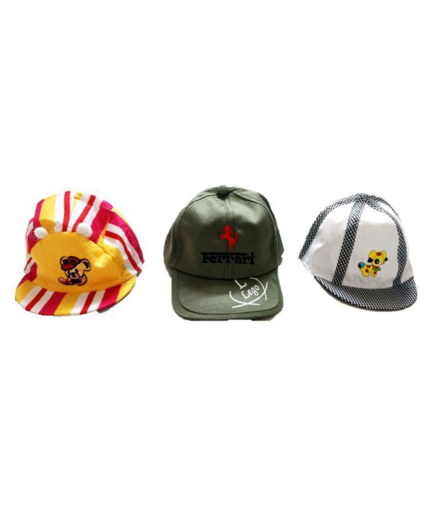 New Jain Traders - Baby Summer Caps Hats - Set of 3  Buy Online at Low  Price in India - Snapdeal 4c9fa4c98e4
