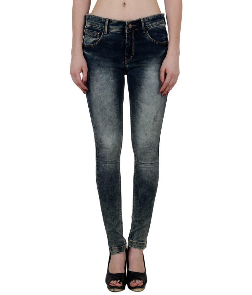 King Size Cotton Jeans - Blue
