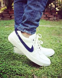 Instyle 2551 Sneakers White Casual Shoes