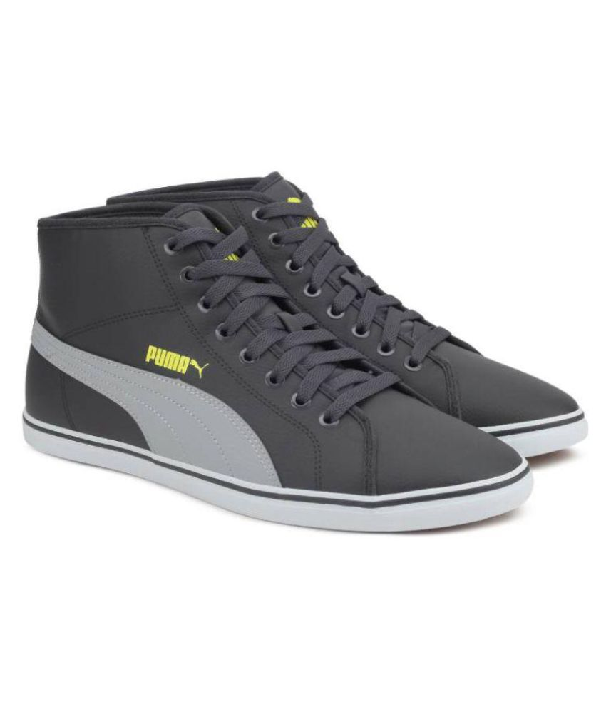 Puma Elsu v2 Mid SL Sneakers Gray Casual Shoes - Buy Puma Elsu v2 Mid SL Sneakers  Gray Casual Shoes Online at Best Prices in India on Snapdeal ce833a22a