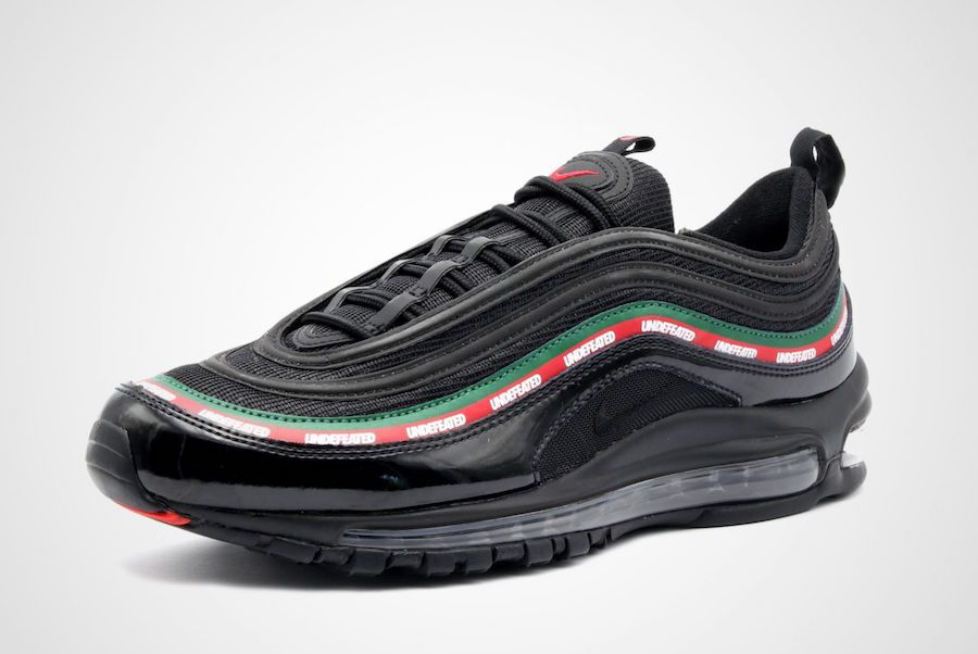 c0152e8468a Nike Air Max 97 UNDEFEATED Black Running Shoes - Buy Nike Air Max 97  UNDEFEATED Black Running Shoes Online at Best Prices in India on Snapdeal