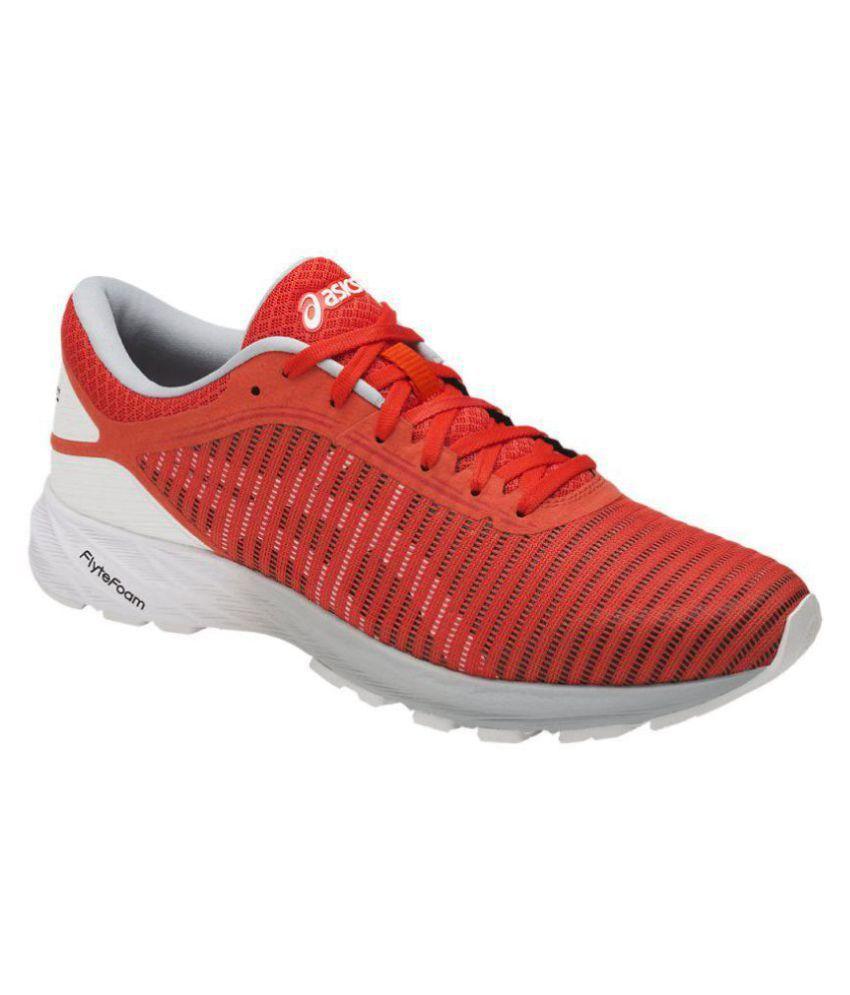 hot sale online 37ad4 4c54d Asics DYNAFLYTE 2 Orange Running Shoes