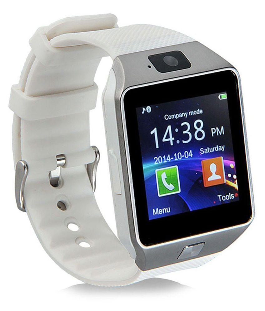 Bastex Smartwatch Suited HTC One (E8) Dz09 Golden Smart Watches