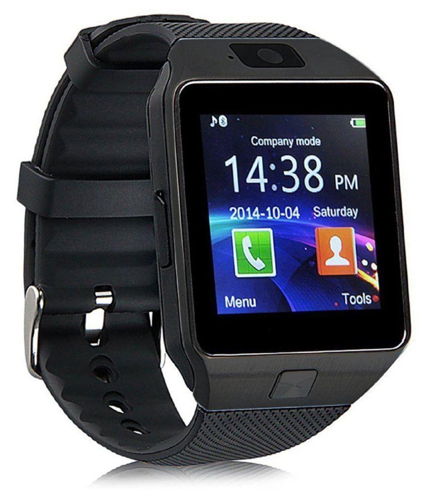 Bastex Smartwatch Suited iBall Andi HD6 Dz09 Golden Smart Watches