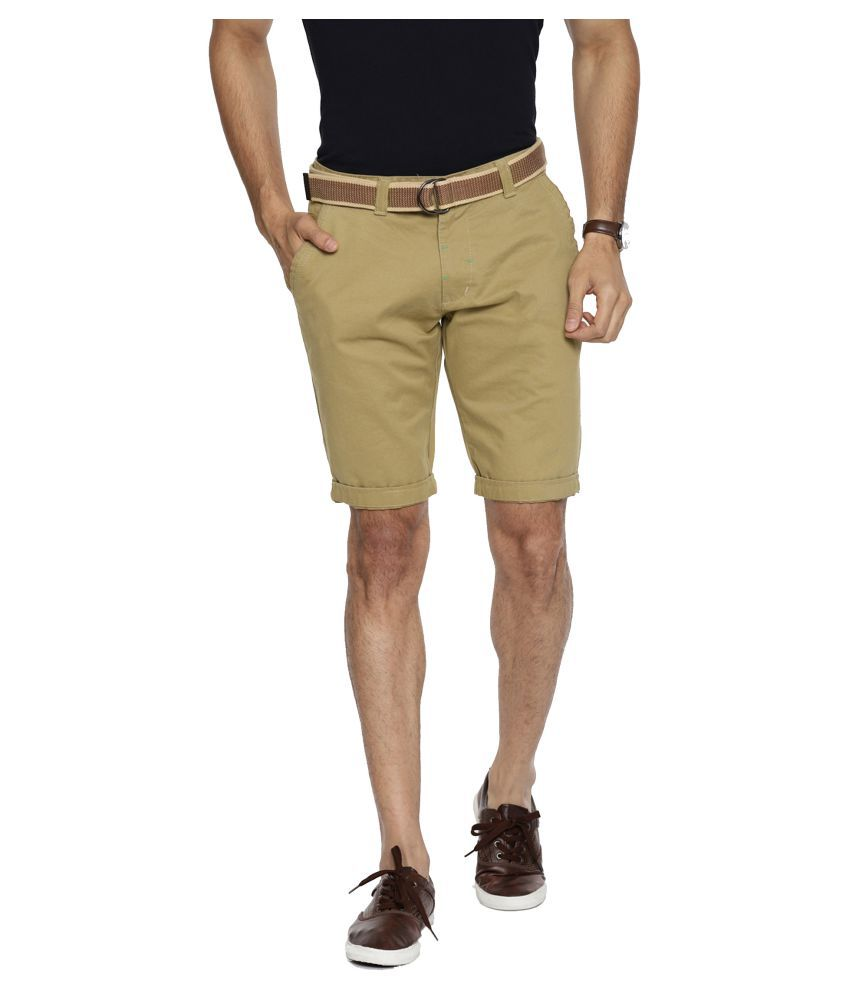 Fifty Two Beige Shorts