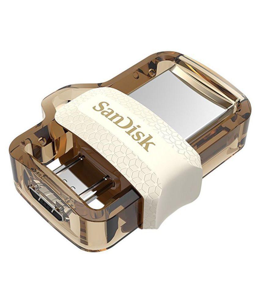 SanDisk Ultra Dual 32GB USB 3.0 OTG Pendrive (Gold)