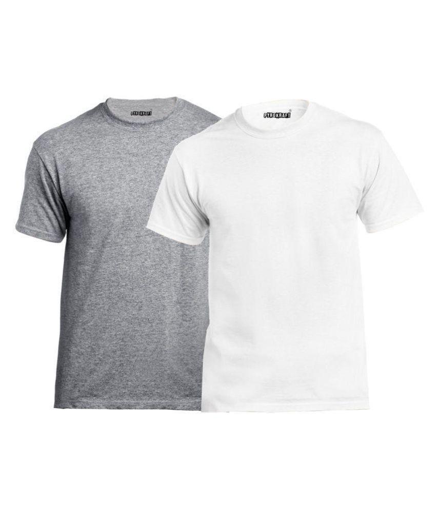 Pyrokraft Multi Round T-Shirt Pack of 2