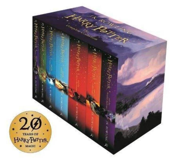 Harry Potter BoxSet 2014 (English, Paperback, J. K. Rowling)