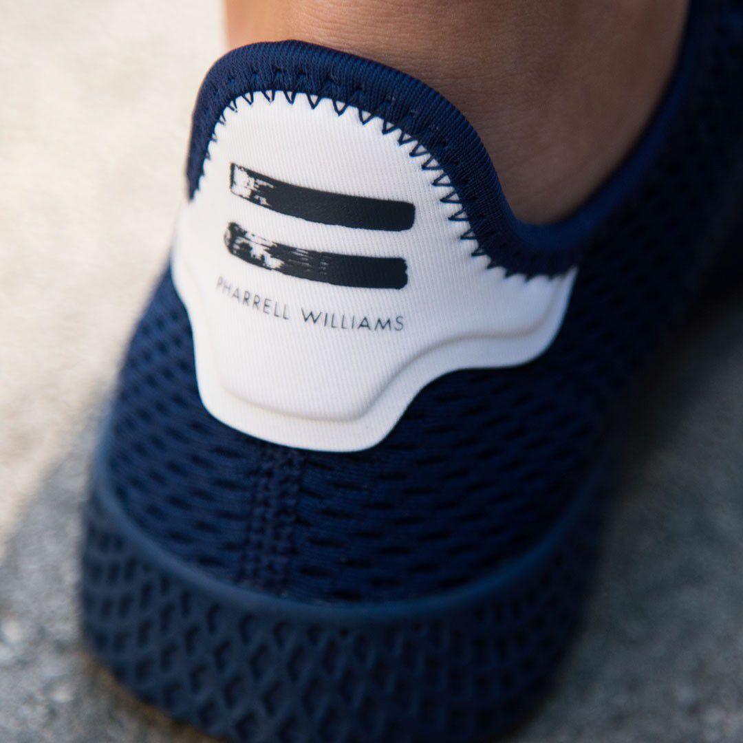 ed67f8037b2d2 Adidas Pharrell Williams Tennis HU Navy Running Shoes - Buy Adidas ...