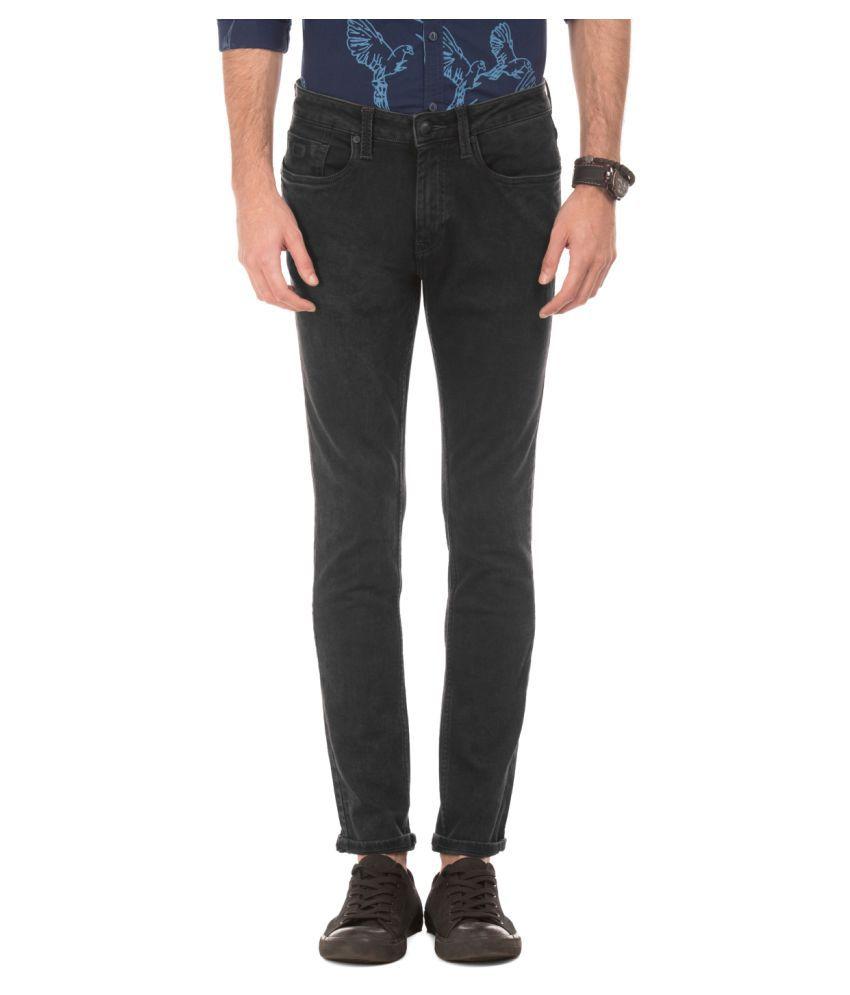 Ed Hardy Black Slim Jeans