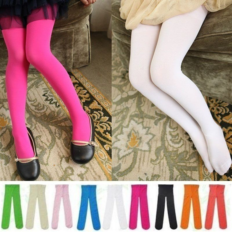 4df2992ba1905 ... Winter Warm Fashion Toddler Girls Kids Leggings Footed Tights Stockings  Opaque Pantyhose Ballet Dance Pants Tights ...