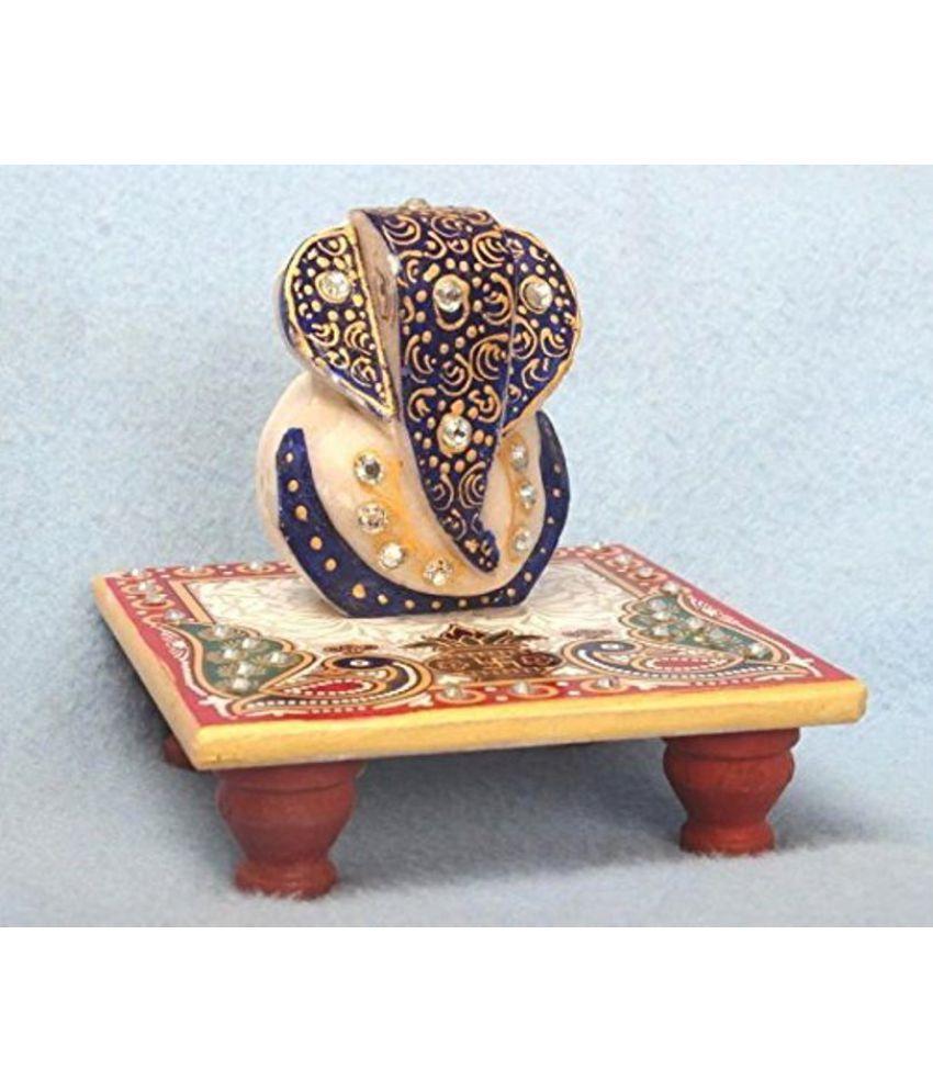 Ages Art Ganesha Marble Idol