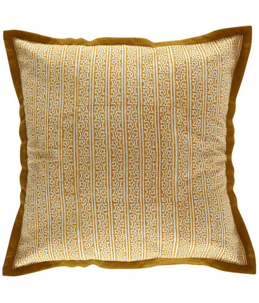 Sadyaska Single Cotton Cushion Covers 40X40 cm (16X16)