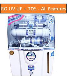 DEAL AQUAGRAND AUDI RO+UF+UV+MINERAL+TDS CONTROLLER 12 Ltr ROUVUF Water Purifier- ALL FEATURES