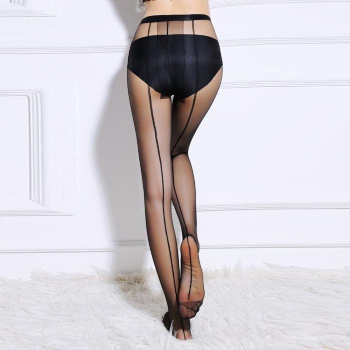 816642ebb1e Sexy Women s Fantastic Sheer Pantyhose Silk Stockings Tights  Buy ...