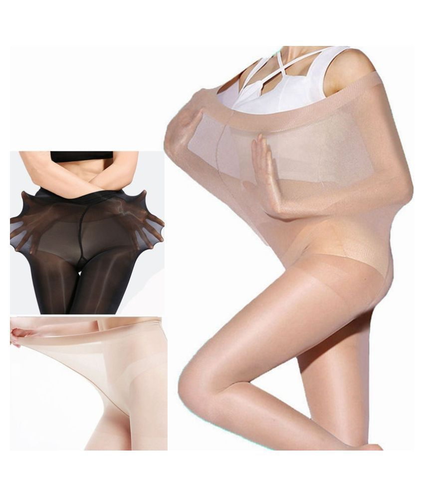 Women Sexy Super Elastic Magical Stockings Stretchy Pantyhose Anti Hook Tights Socks