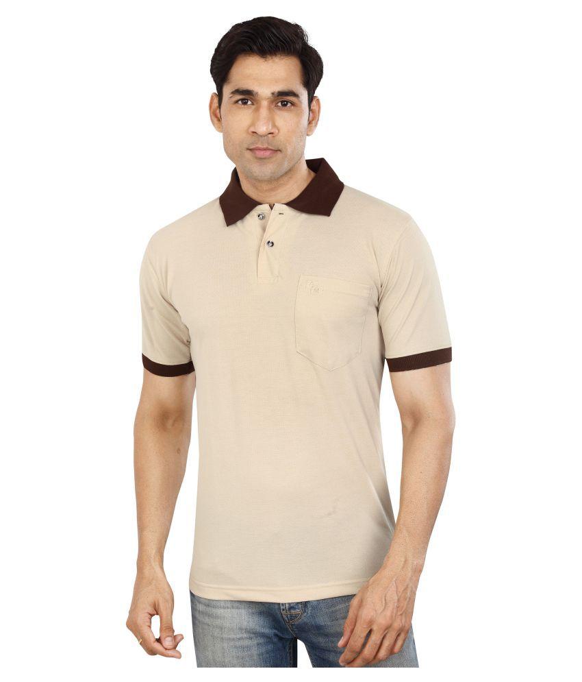 Dudlind Yellow Round T-Shirt Pack of 1