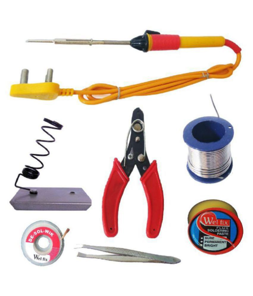 Homelux 7 in 1 Electric Soldering/Welding Iron Kit For DIY/Crafts