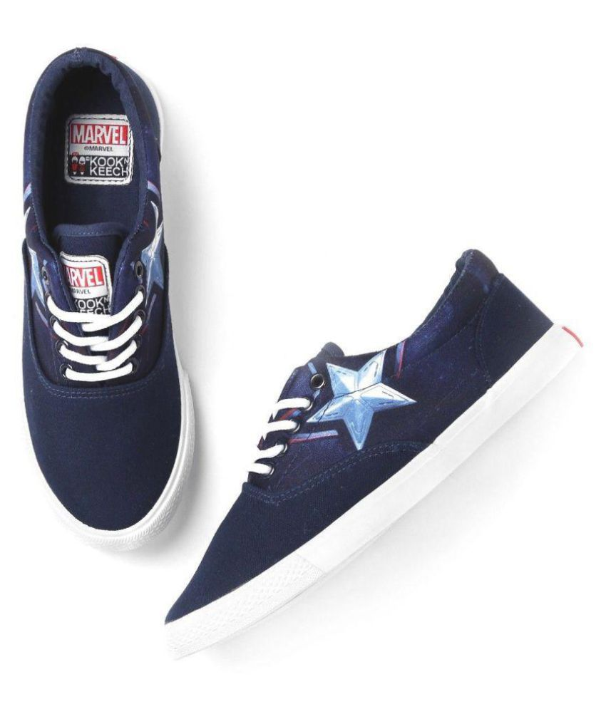 3e6493d5b7 kook n keech Marvel Unisex Navy Casual Shoes - Buy kook n keech Marvel Unisex  Navy Casual Shoes Online at Best Prices in India on Snapdeal