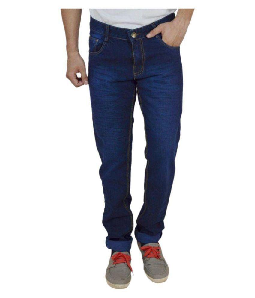 Luv Kush Blue Regular Fit Jeans