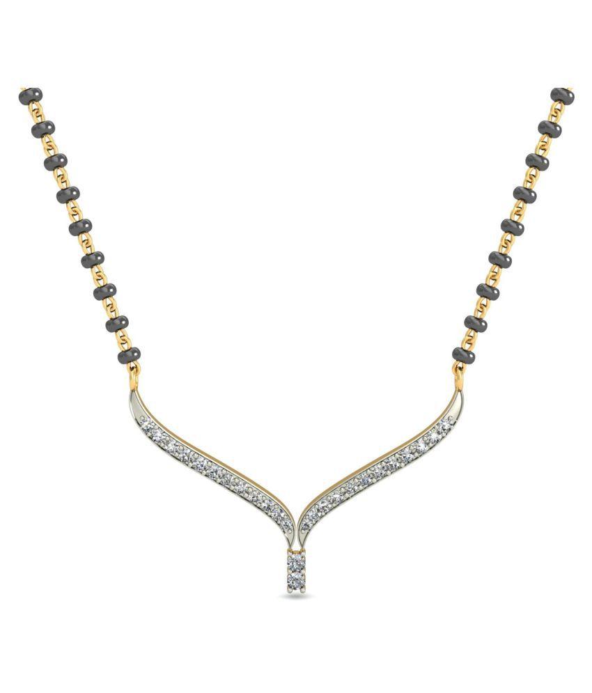 jewelsnext 18k Yellow Gold Mangalsutra