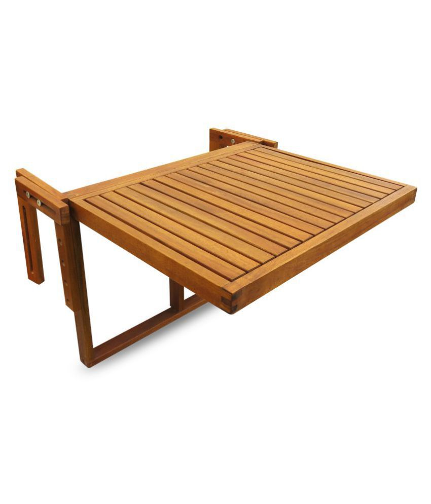 Elegant Fold Down Balcony Table