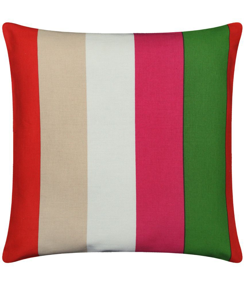 Airwill Single Cotton Cushion Covers 40X40 cm (16X16)