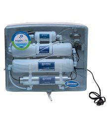 PurenessRO Water Purifier Acqualite Without Storage UV+UF in food grade body 5 Ltr ROUVUF Water Purifier