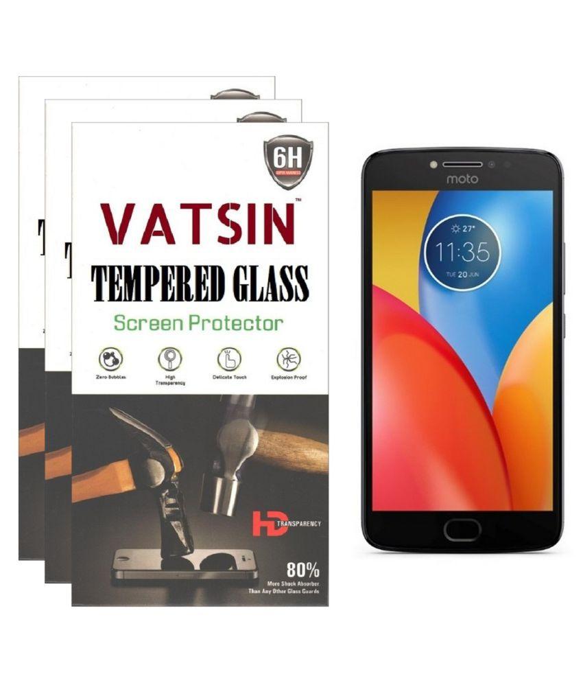 Motorola Moto E4 Plus Tempered Glass Screen Guard By Vatsin