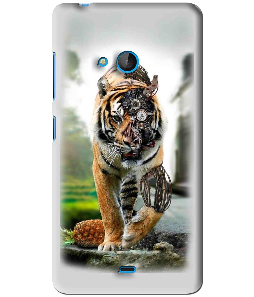 Microsoft Lumia 540 Printed Cover By Snooky