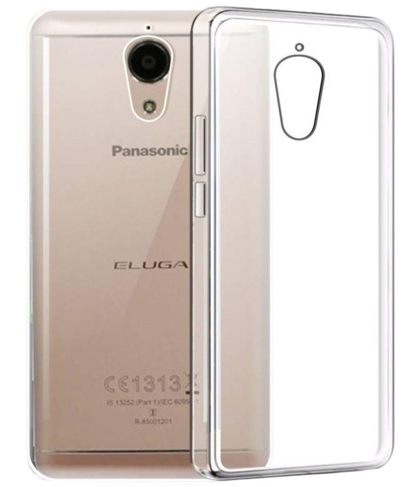 buy online c3246 7f984 PANASONIC ELUGA I3 MEGA Plain Cases ibnelite - Transparent