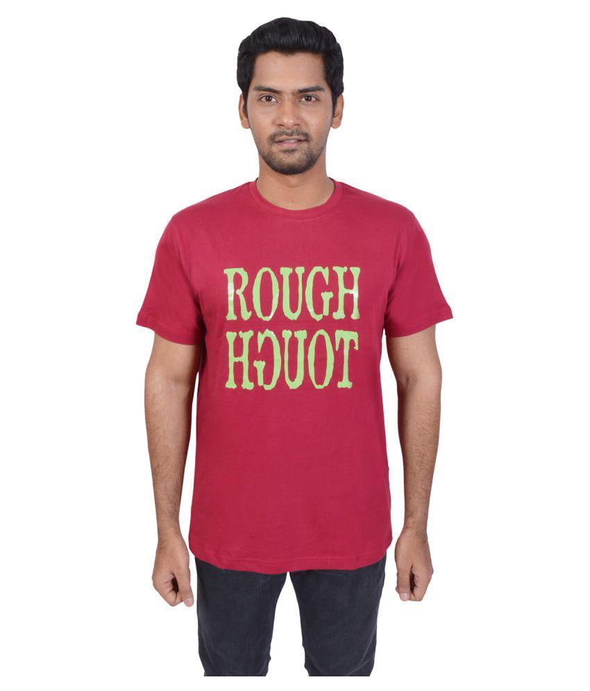 El Clima Maroon Round T-Shirt