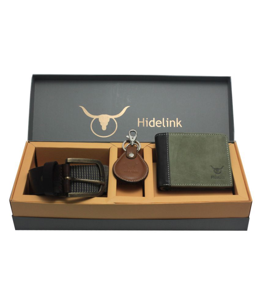Hidelink Multi Leather Combo Belts