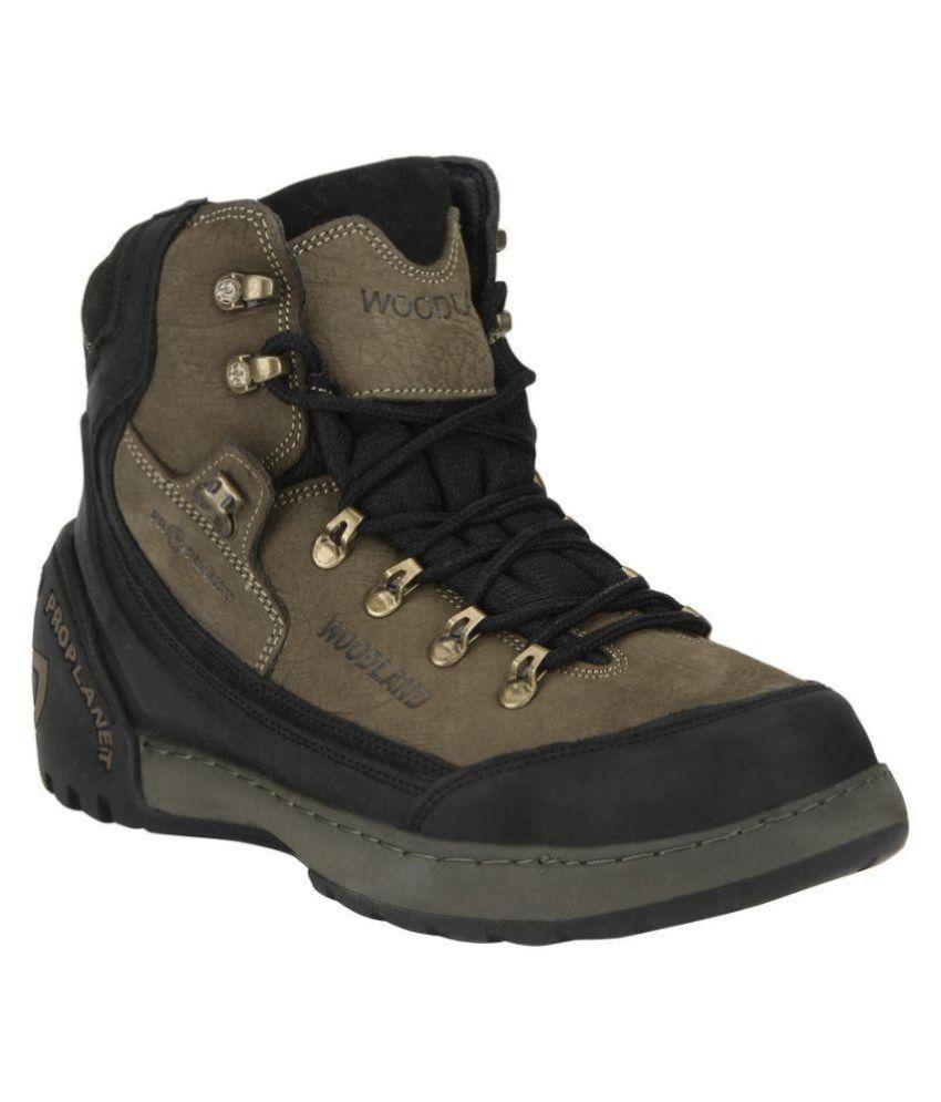 Woodland Beige Hiking & Trekking Boot