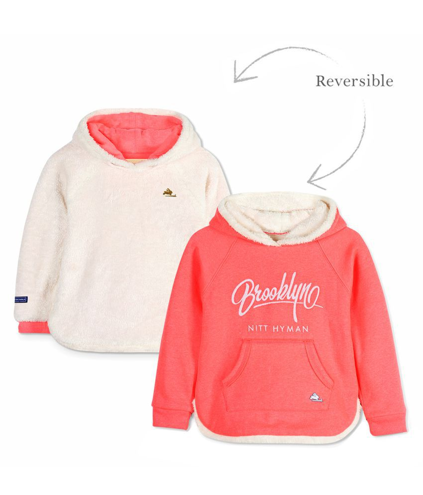 Cherry Crumble Reversible Fuzzy Sweatshirt
