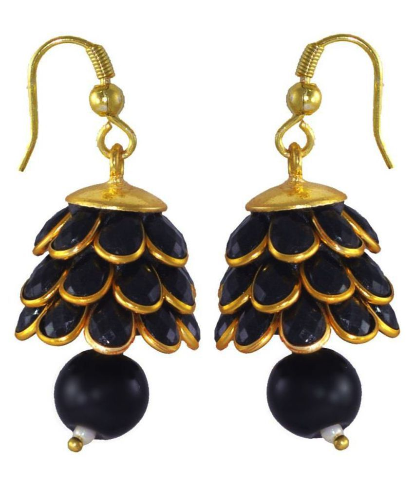 PCHALK DESIGNER JHUMKI EARRING FOR WOMEN'S/GIRLS SUITABLE WITH ALL TRADITIONAL AND WESTERN DRESSES