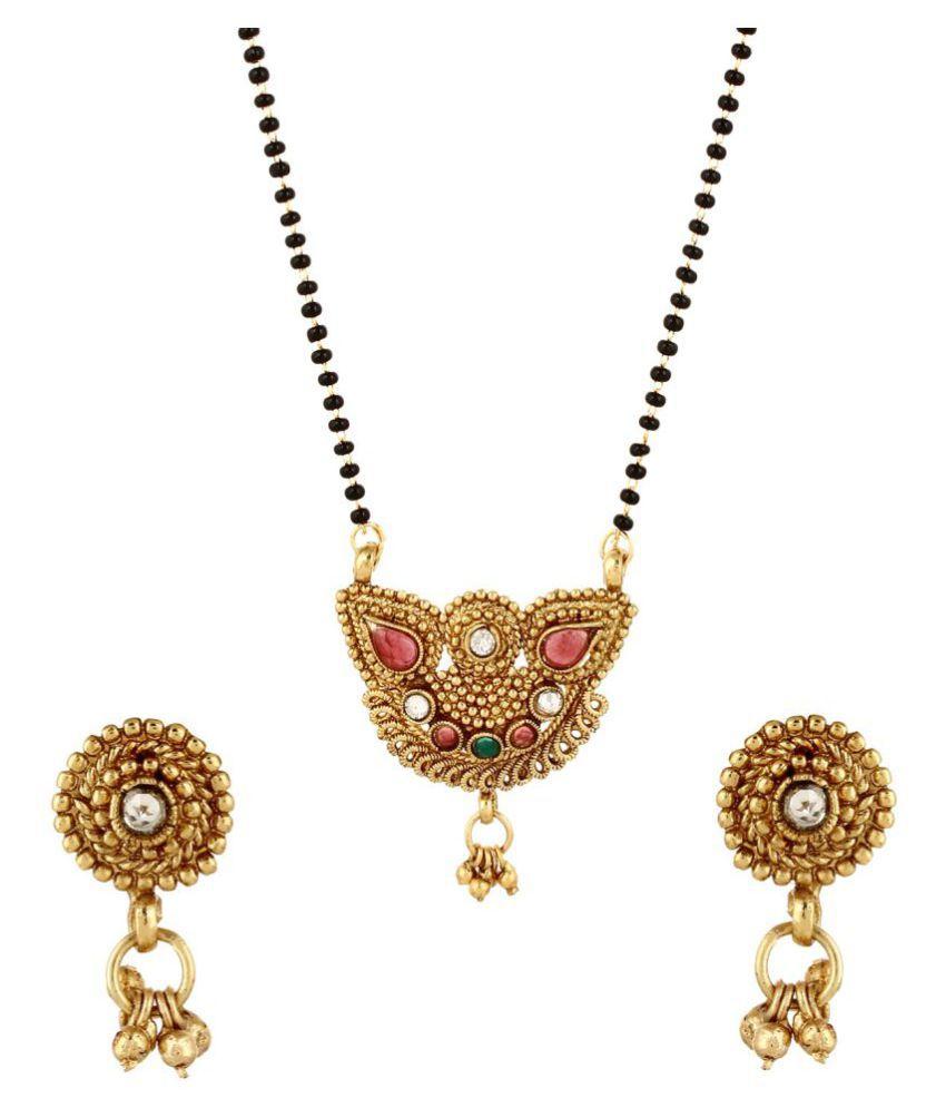 Tasveer Color Fashion 2017 Designer Mangalsutra