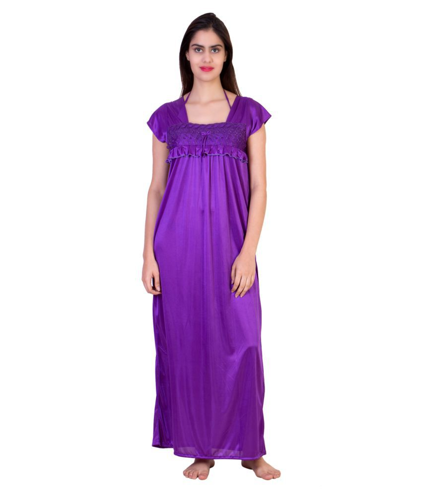 Adonia Satin Nighty & Night Gowns