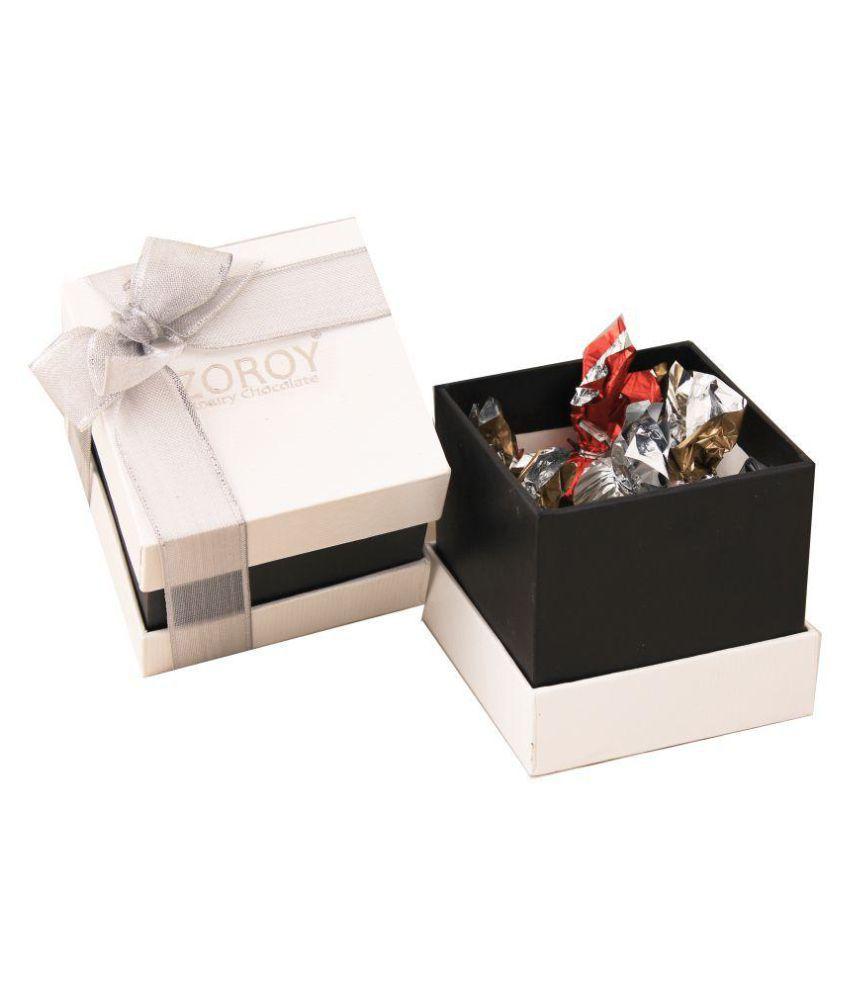 Zoroy Luxury Chocolate Assorted Box Diwali box of 12 Pralines 130 gm