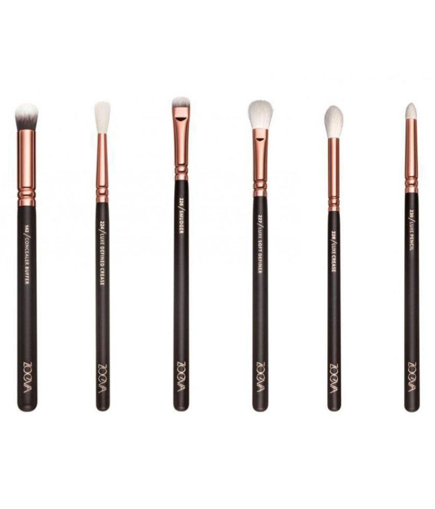 Zoeva Rose Gold Complete Eye Makeup Brushes Vol.1 Set Of ...