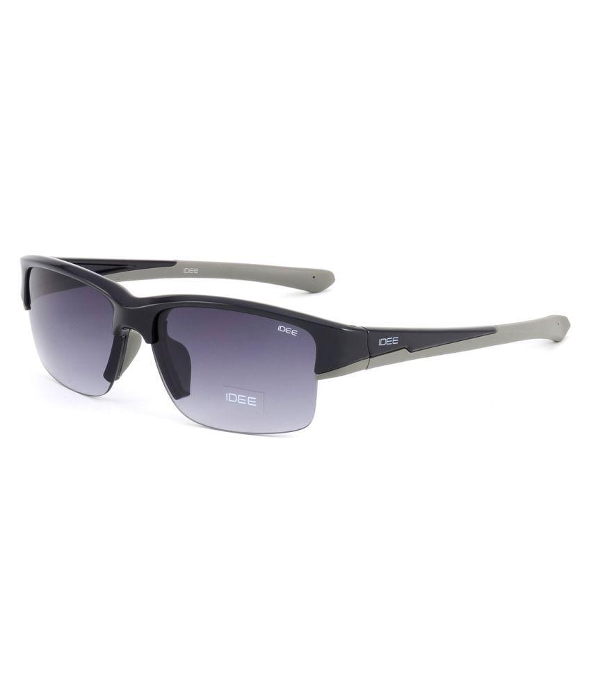 United Colors of Benetton Grey Wayfarer Sunglasses ( IDEE S2032 )