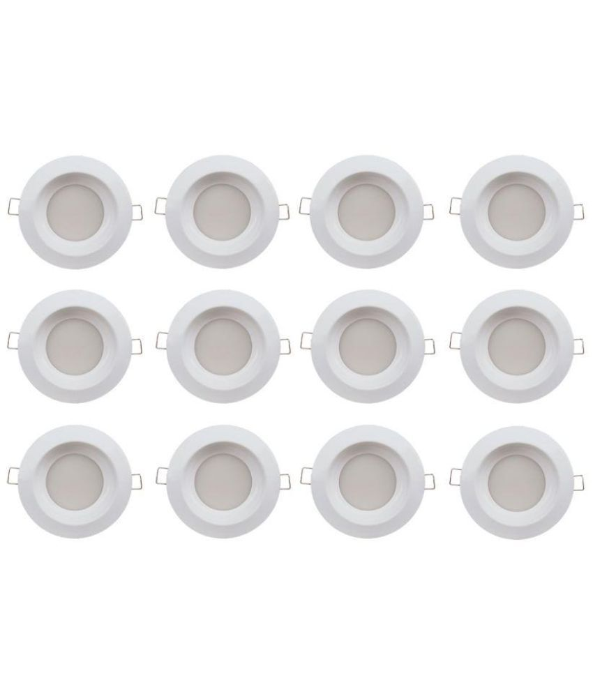 Bene 6W Round Ceiling Light 11 cms. - Pack of 12