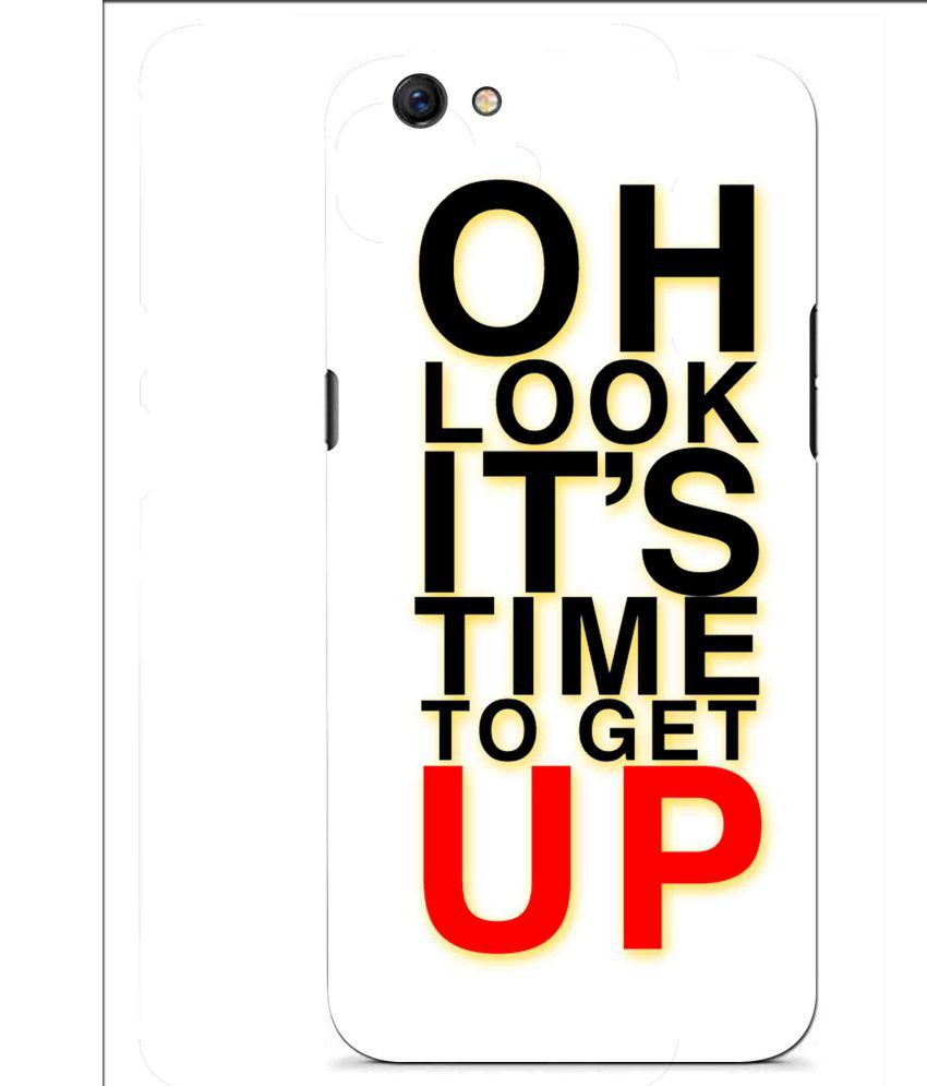 Oppo F3 Printed Cover By Snooky