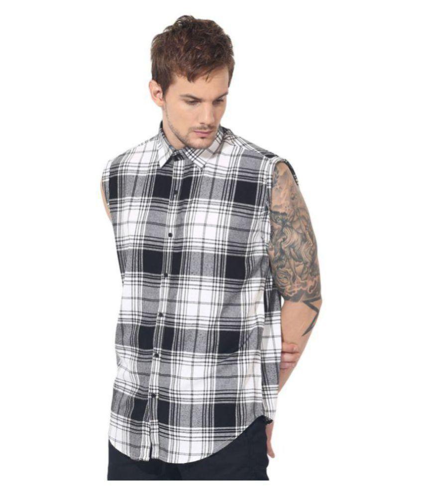 Green Hill Multi Casual Slim Fit Shirt