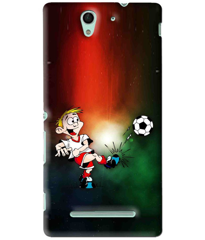 Sony Xperia C3 Printed Cover By Snooky