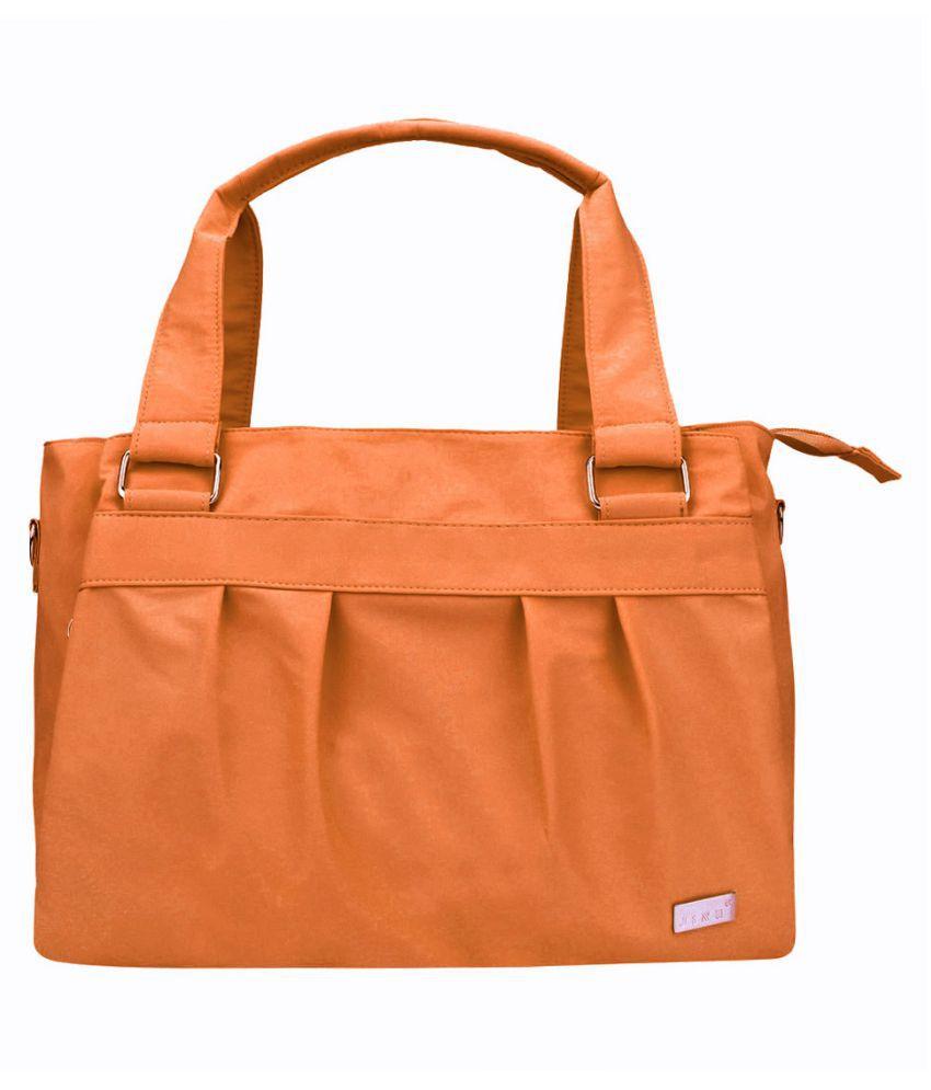 JINU Orange Nylon Handheld