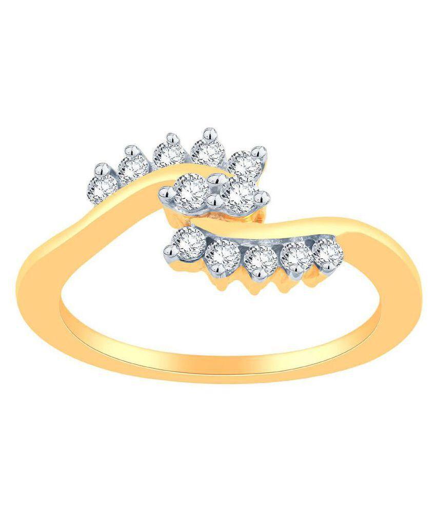 Avnni By Nakshatra 18k Yellow Gold Ring