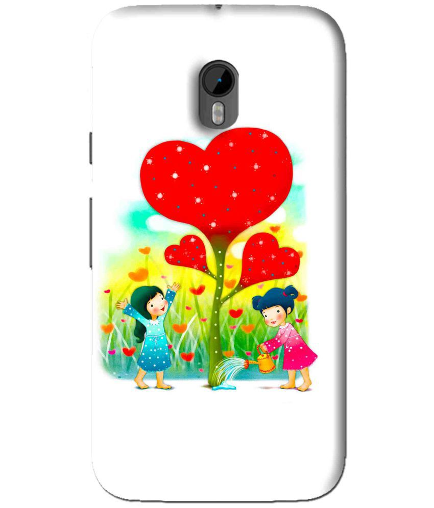 Moto G3 Printed Cover By Snooky