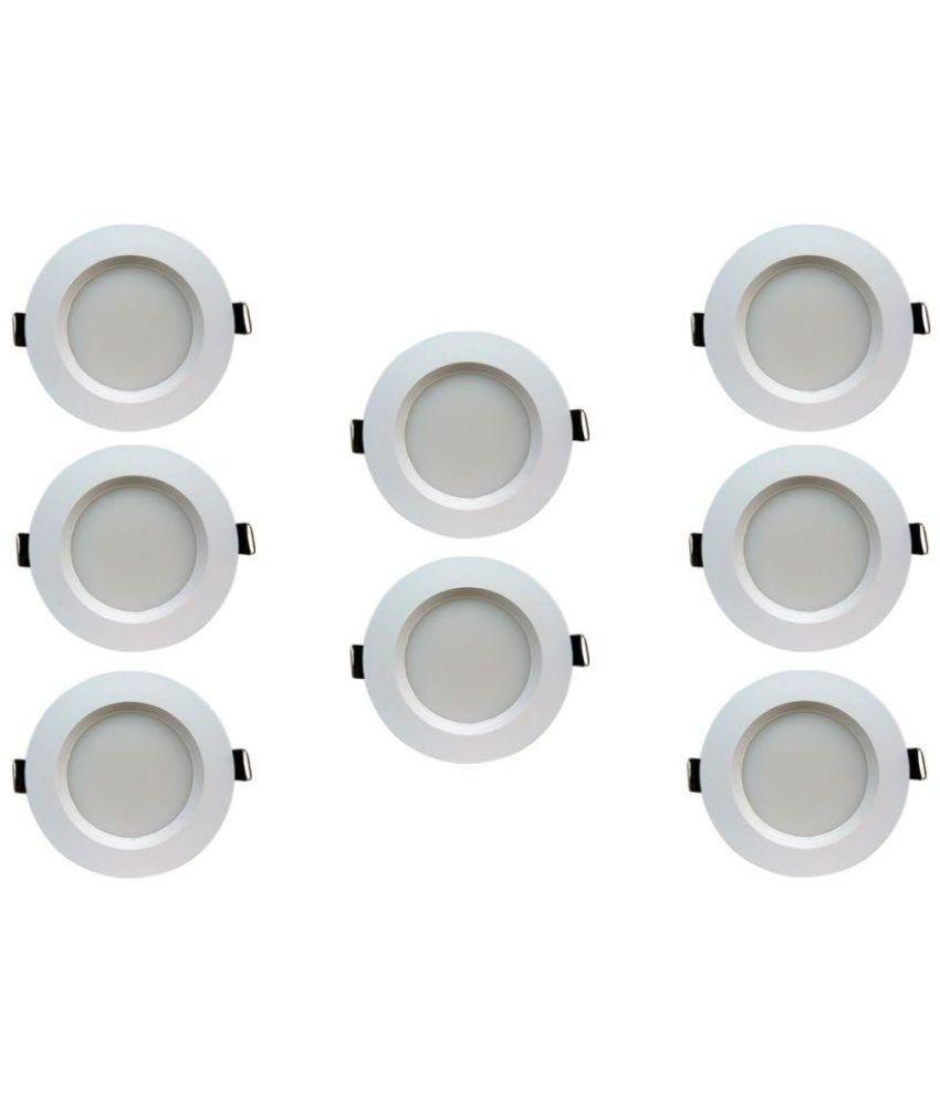 Bene 5W Round Ceiling Light 10.5 cms. - Pack of 8